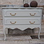 Commode deux tiroirs